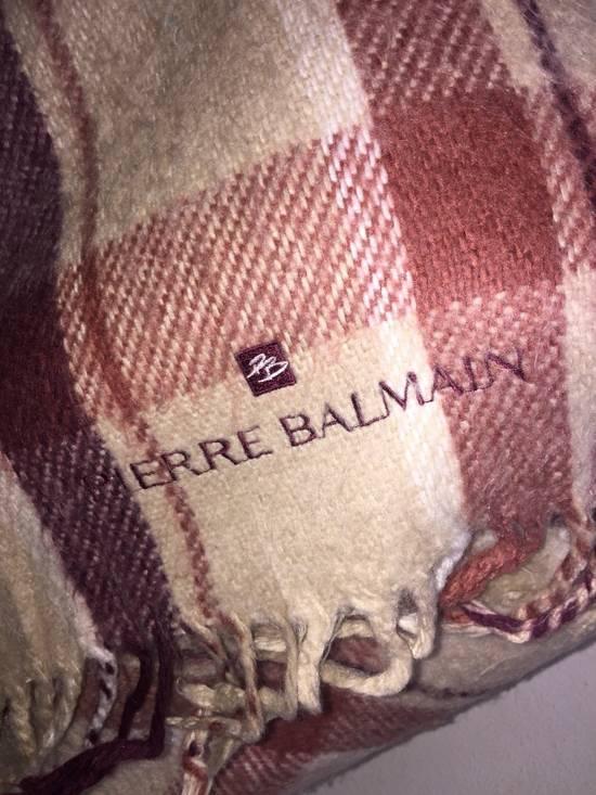 Balmain 90's Vintage Pierre Balmain Scarf Body Wrap Shawls Wools Size ONE SIZE - 1