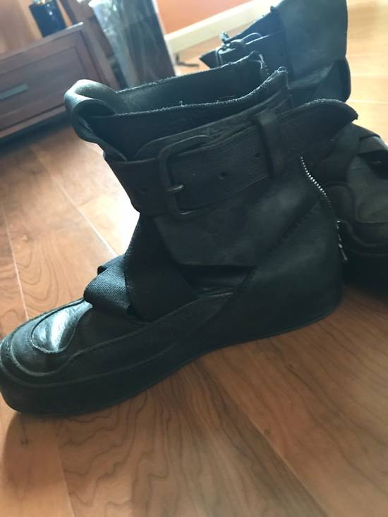 Julius 2014S/S Strapped Leather Sneakers Size US 9 / EU 42 - 2