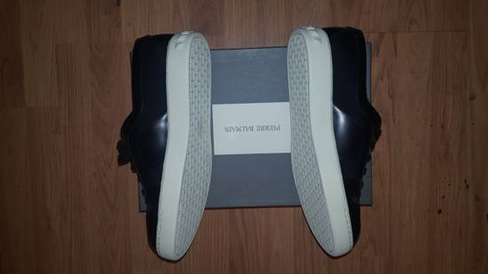 Balmain Low-Top Leather Sneakers Size US 12 / EU 45 - 4