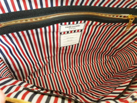 Thom Browne Thom Browne Business Bag briefcase suitcase Black Pebble Grain Size ONE SIZE - 5