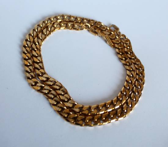 Givenchy Gold Plated Cuban-Link Necklace Size ONE SIZE - 1
