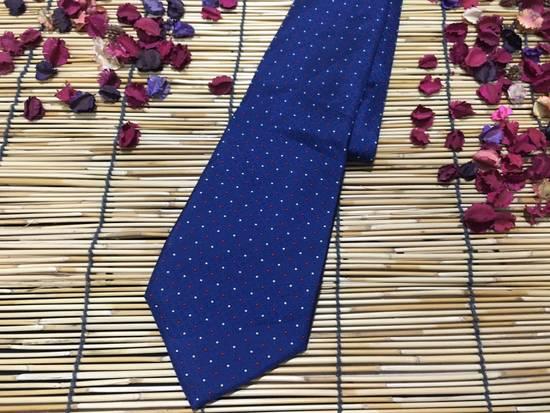Balmain Balmain Necktie, Blue Color Necktie, Dot Pattern Size ONE SIZE - 1