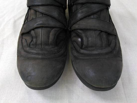 Julius Backzip Velcro Strap Leather Boots f/w11 Halo Size US 9 / EU 42 - 2
