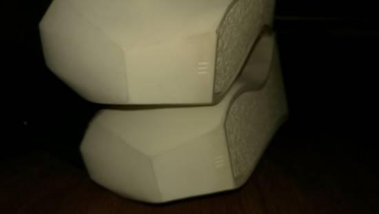 Julius HI Top Goat Nubuck Coated Polygon Platform Sneakers Size US 11 / EU 44 - 10