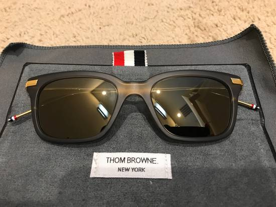 Thom Browne TB701 Crystal Grey / Gold Size ONE SIZE - 1