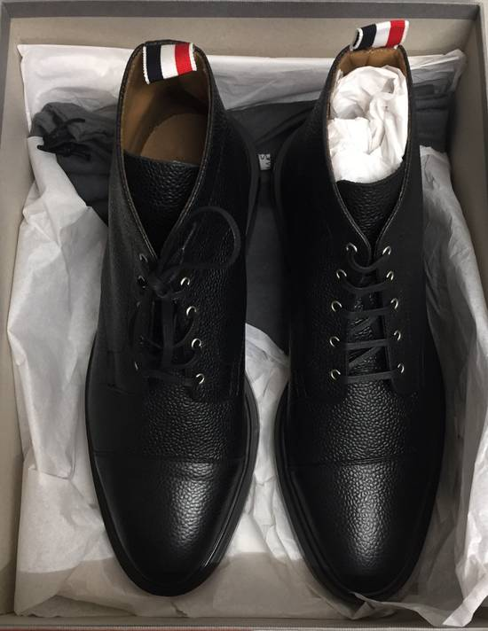Thom Browne Pebble Grain Cropped Derby - New Size US 10 / EU 43 - 1