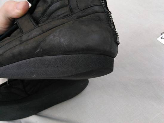 Julius Backzip Velcro Strap Leather Boots f/w11 Halo Size US 9 / EU 42 - 10