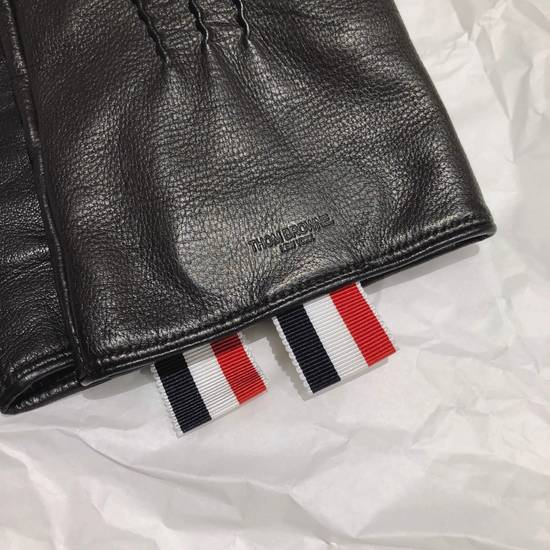 Thom Browne Lamb Skin Leather Gloves Size ONE SIZE - 1