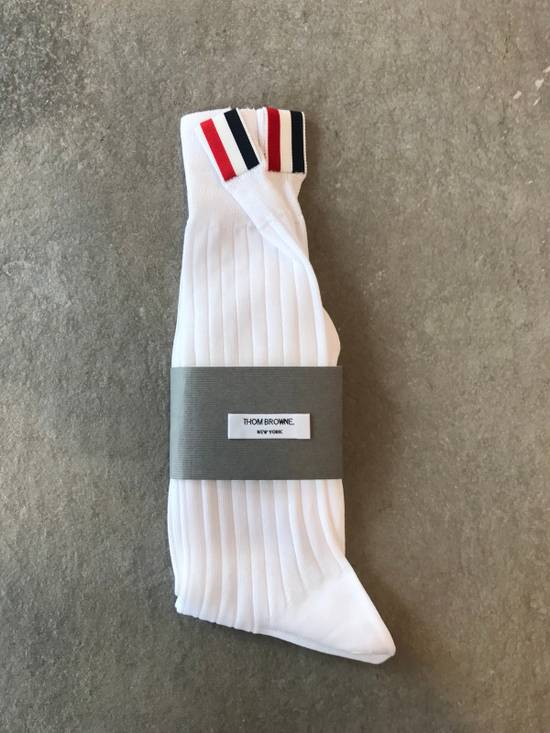 Thom Browne **LAST DROP** Ribbed Mid-Calf Sock Size ONE SIZE - 1