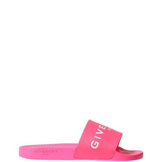 Givenchy FLAT SANDALS IN GIVENCHY PARIS RUBBER NEON Size US 8 / EU 41