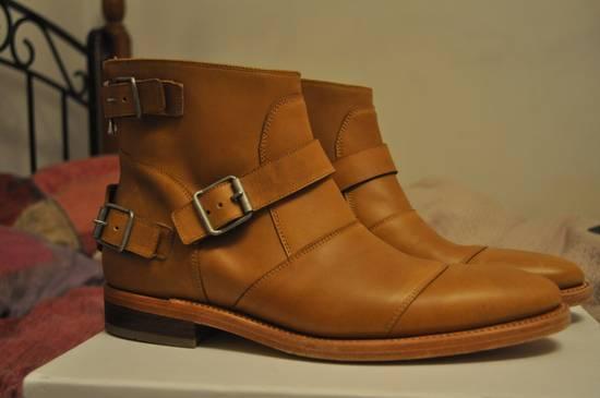 Balmain Buckle Boots Size US 9 / EU 42