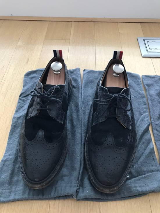 Thom Browne Black Thom Browne Wingtips Pony Hair Size US 11 / EU 44