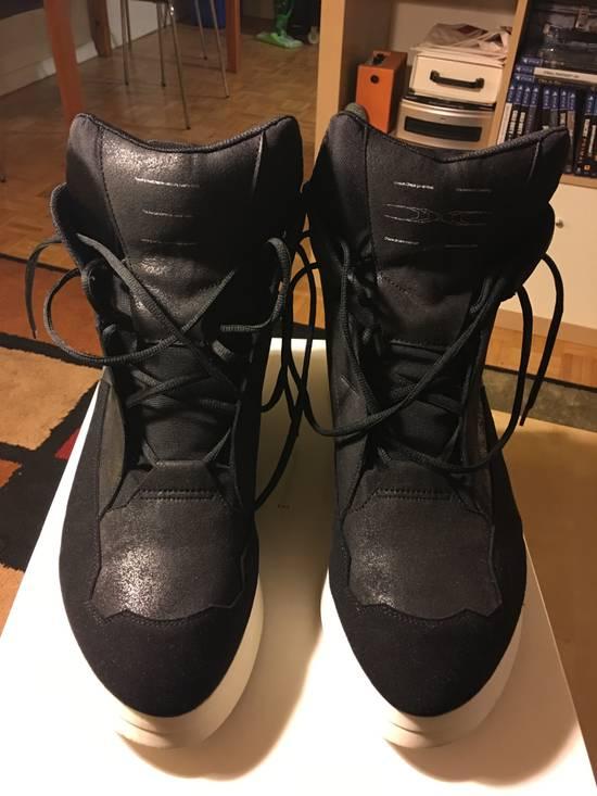 Julius Hi-Top Sneakers - Black/White - Size 4 Size US 11.5 / EU 44-45 - 1