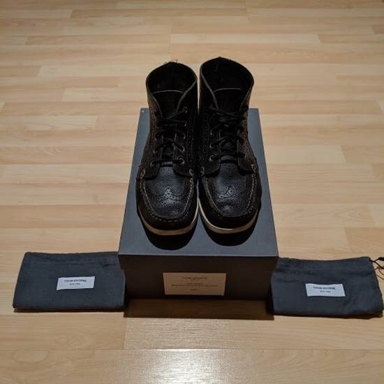 Thom Browne Wingtip Deck Boot Size US 9 / EU 42