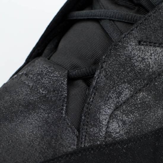 Julius 7 Black Coated Cloth Leather Hi Top Sneakers Shoes Size US 11 / EU 44 - 6