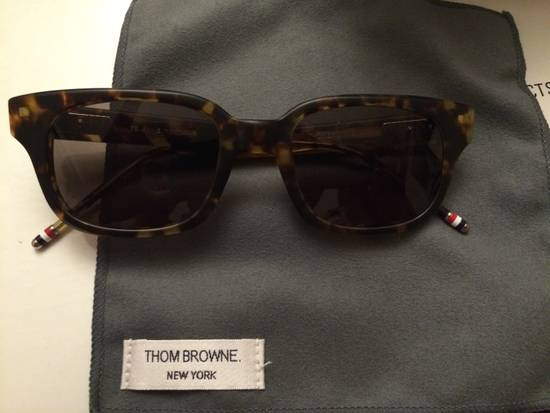 Thom Browne TB-401-B-T-TKT-49.5 sunglasses square frame Size ONE SIZE - 1