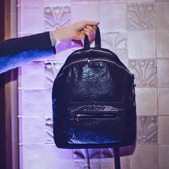 Balmain Balmain X H&M Leather Backpack Size ONE SIZE - 2