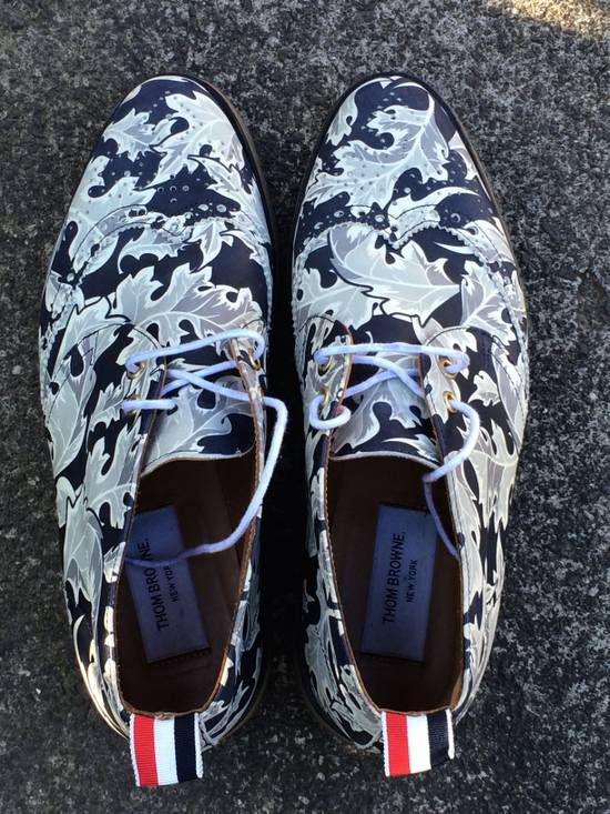 Thom Browne FW14 Leaf Print Shoes Size US 8 / EU 41 - 3