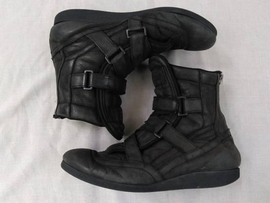 Julius Backzip Velcro Strap Leather Boots f/w11 Halo Size US 9 / EU 42 - 3