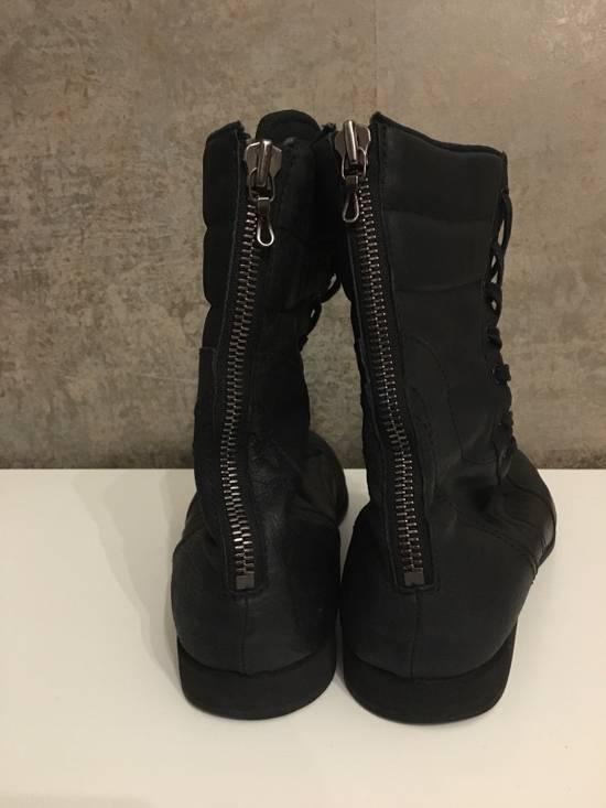 Julius Backzip Black Pigskin Boxing Boots Size US 10 / EU 43 - 2