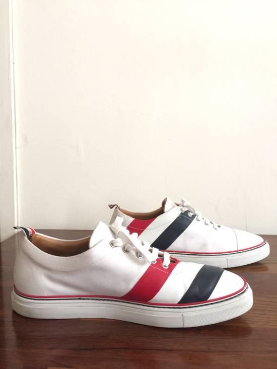 Thom Browne Men's Thom Browne Cap Toe Low-Top White Training Sneakers Size US 11 / EU 44 - 4