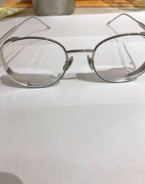 Thom Browne Silver Glasses Size ONE SIZE - 8