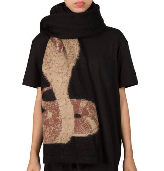 Givenchy Very rare Python Black Scarf Size ONE SIZE