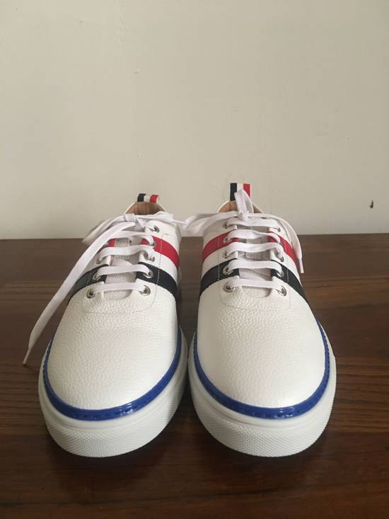 Thom Browne Low Top RWB Stripe Sneaker Size US 10.5 / EU 43-44 - 4