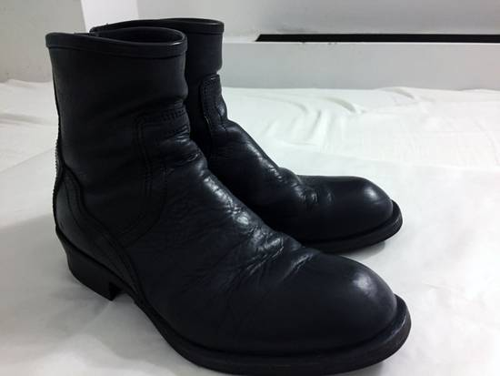 Julius JULIUS 12-13F/W [Resonance;] Engineered Backzip Boots Size US 8.5 / EU 41-42 - 10
