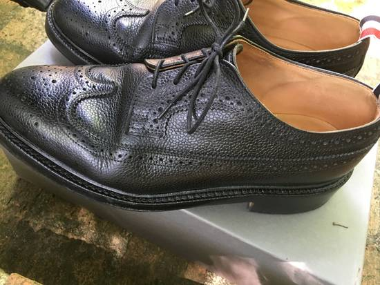 Thom Browne Pebble Grain Longwing Brogues - us 9 Size US 9 / EU 42 - 5