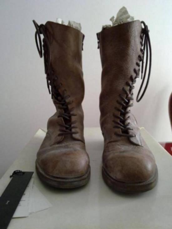 Julius New runway rare spiral boots Size US 8.5 / EU 41-42