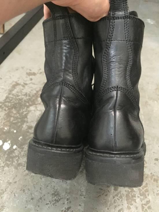 Julius 11-Hole Sidezip Combat Boots Size US 9 / EU 42 - 11