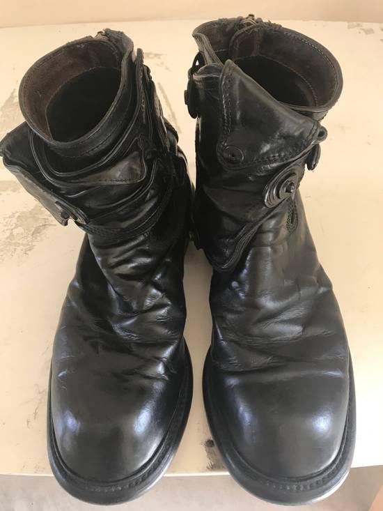 Julius AW12 gas mask removable gun holster boots Size US 9.5 / EU 42-43 - 1