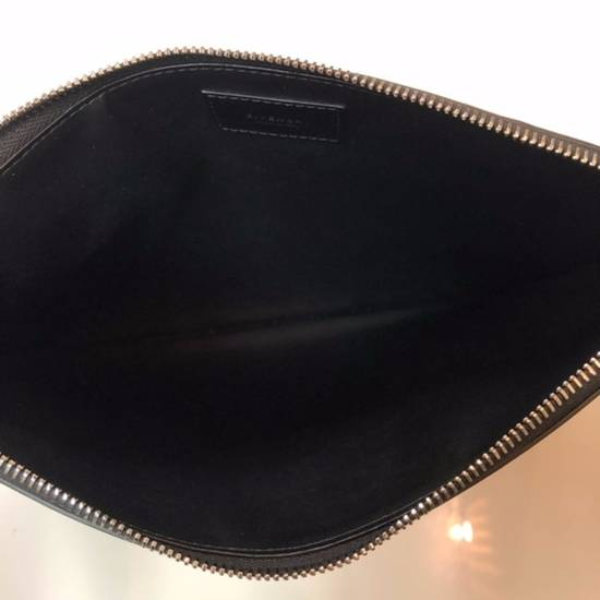 Givenchy Givenchy Leather Pouch Clutch Bag Size ONE SIZE - 3