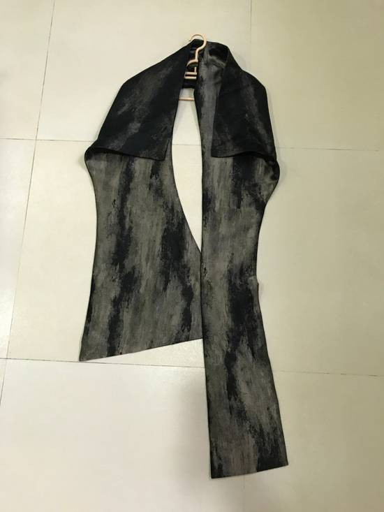 Julius SS13 gold structure scarf Size ONE SIZE