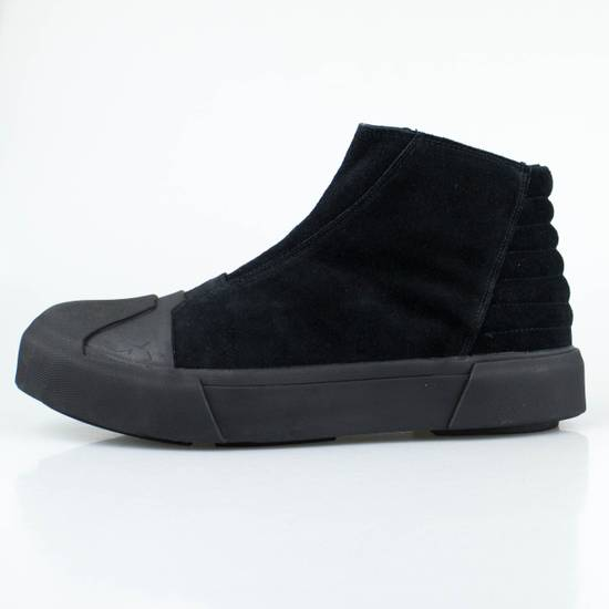 Julius 7 Black Cow Suede Leather Hi Top Sneakers Shoes Size US 11 / EU 44 - 2