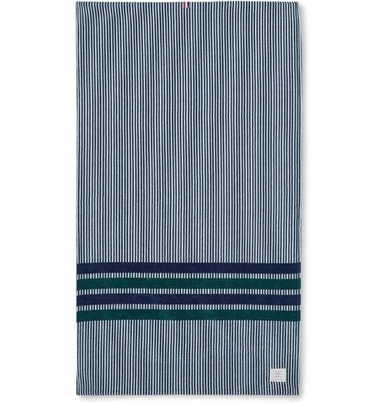 Thom Browne Striped Cotton Towel Size ONE SIZE - 1