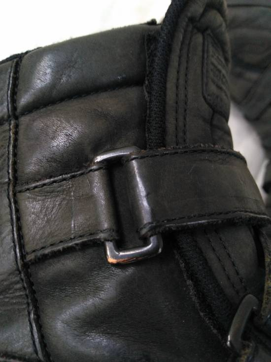Julius Backzip Velcro Strap Leather Boots f/w11 Halo Size US 9 / EU 42 - 8