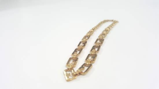 Givenchy Gold plated necklace G link Size ONE SIZE