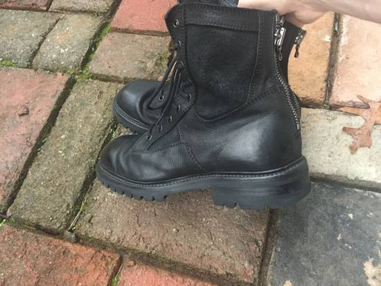 Julius SS17 Backzip Combat Boots Size US 9 / EU 42 - 5