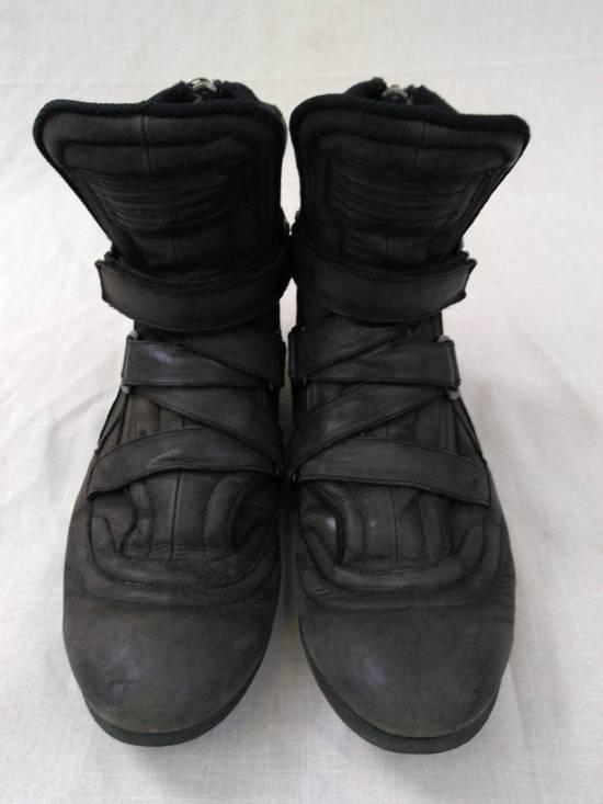 Julius Backzip Velcro Strap Leather Boots f/w11 Halo Size US 9 / EU 42 - 1