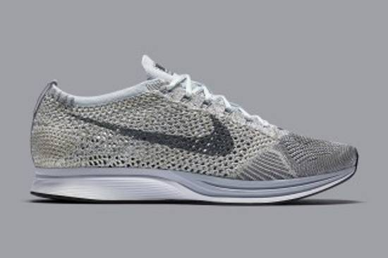 official photos d6c51 6b593 ... discount code for nike pure platinum earth tones flyknit racer size us  afa53 dbc11
