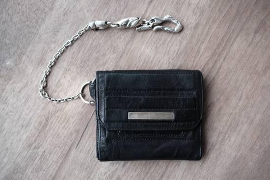 Julius black leather 3 fold wallet Size ONE SIZE