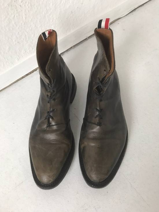 Thom Browne LIMITED THOM BROWNE Distressed Boots, Size 45 Grey Size US 10.5 / EU 43-44 - 2