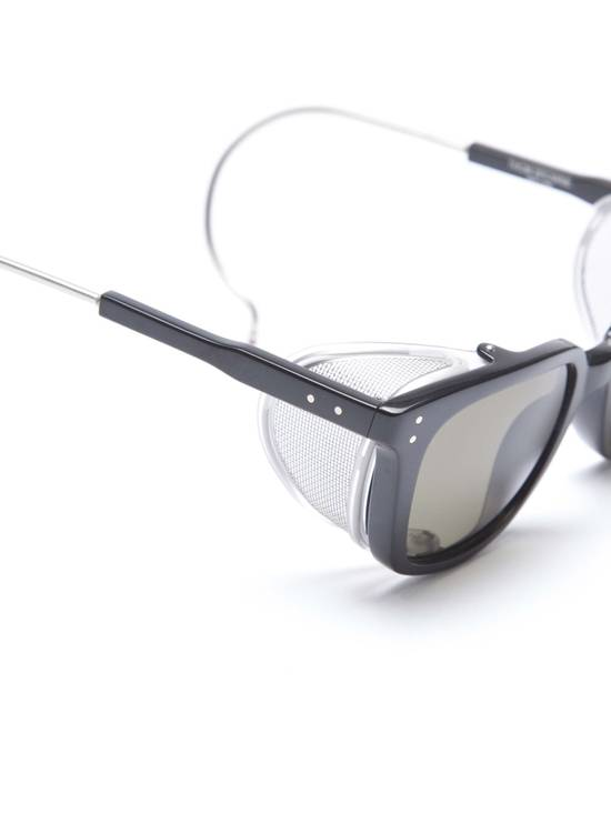 Thom Browne TB-018 Glasses - Black/Matte Silver Size ONE SIZE - 4