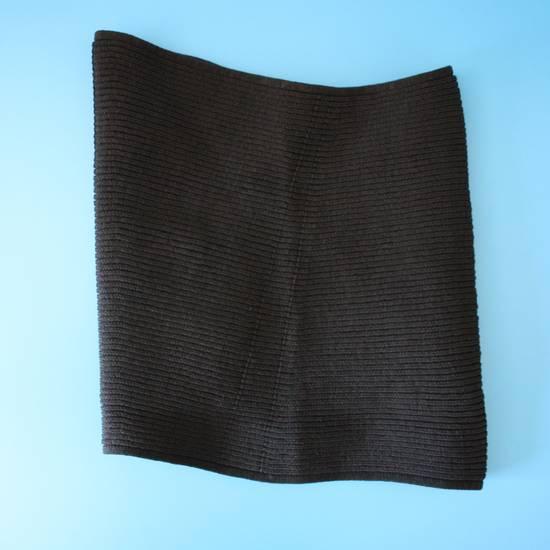 Julius Julius Black Knit Tube Beanie Size ONE SIZE