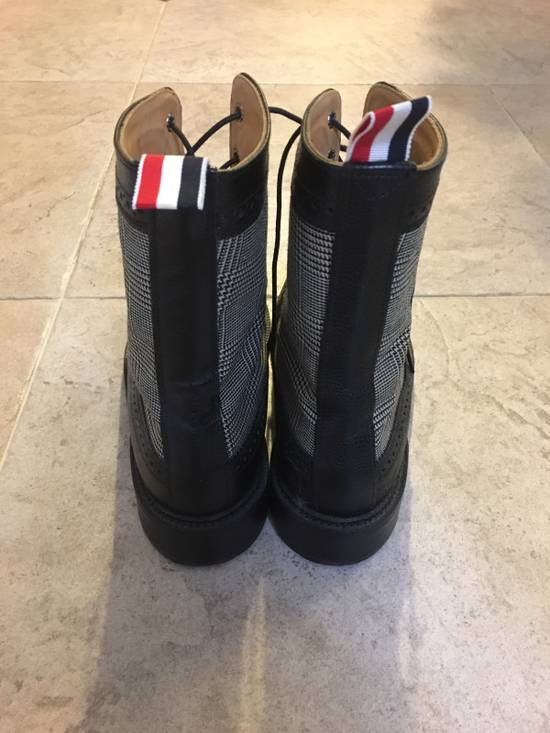 Thom Browne Prince Of Wales Check Boots Size US 7 / EU 40 - 2