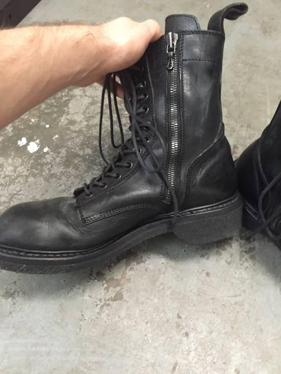 Julius 11-Hole Sidezip Combat Boots Size US 9 / EU 42 - 3