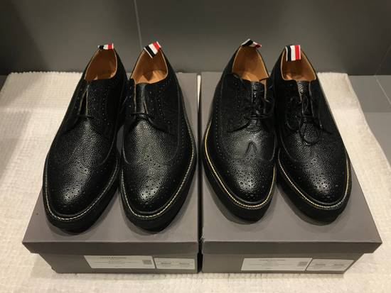 Thom Browne Classic Brogues with Gum Sole in Pebble Grain Size US 7 / EU 40