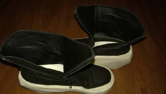 Julius HI Top Goat Nubuck Coated Polygon Platform Sneakers Size US 11 / EU 44 - 6